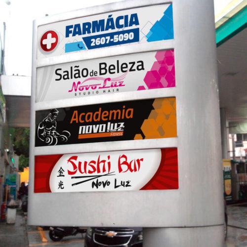 Adesivo Posto de Gasolina